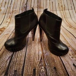 Topshop platform ankle boots Size 8